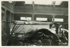 Salon de l'Auto de Genève, rolls royce 1928 Vintage silver print.  Tirage