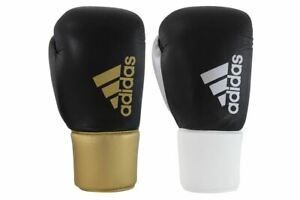 Boxing Gloves adidas Leather Hybrid 400 Pro Lace Up RRP £99 Sparring BBBC
