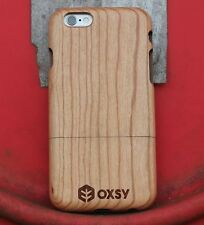 OXSY Genuine Apple iPhone 7 Cherry Wood Case Cover