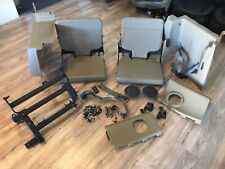 93-97 Land Rover Discovery Jump Seat 3rd Seat Complete Oem Mounting Brackets