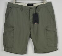 RRP €79 SCOTCH & SODA Men's W34 6 Pockets Cargo Relaxed Fit Shorts 7738*mm