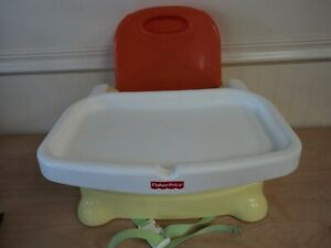 Fisher-Price Baby Booster Seat with Adjustable Tray & Safety Straps 2007 Mattel