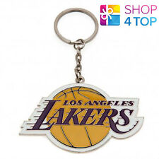 774ab7c0cf9 LOS ANGELES LAKERS OFFICIAL AMERICAN BASKETBALL NBA TEAM KEYRING CHAIN CREST