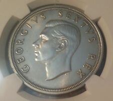 South Africa 5 Shillings 1948 Unc Details NGC silver KM#40.1
