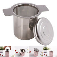 Stainless Steel Tea Infuser Filter Basket Fine Mesh Tea Strainer Hot US