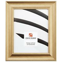 "Craig Frames 1.75"" Contemporary Brushed Gold Picture Frames & Poster Frames"