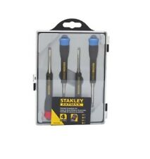 Stanley FatMax 4 Piece Precision Screwdriver Set Color Coded Screw Storage Caps