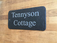 Personalised Traditional Gifts Slate House Sign by 1st 4 Signs