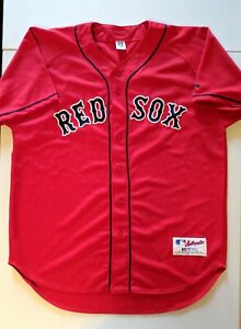 CURT SCHILLING Russell Athletic AUTHENTIC BOSTON RED SOX Jersey 48 Martinez