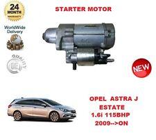 PER OPEL ASTRA J 1.6 i SPORT TOURER 115bhp 2009> STARTER MOTORE