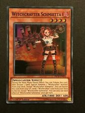 Yugioh: Witchcrafter Schmietta INCH-EN016 - Super Rare - 1st Edition