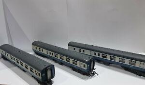 3 Mainline oo scale BR mk1 brake coaches