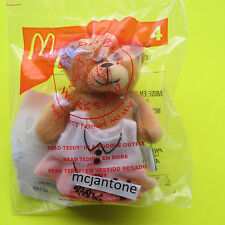MIP McDonald's 2006 Build A Bear READ TEDDY POODLE Outfit Small Plush BABW