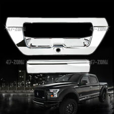 For 2015 Ford F-150 Chrome Tailgate Handle Cover