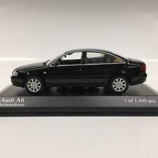 1:43 MINICHAMPS 430010200 AUDI A6 2001 BLACK