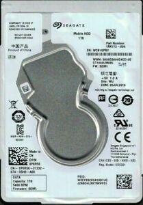 Seagate 1TB 2.5-Inch 5400rpm 128MB Cache SATA Hard Drive - Silver