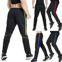Men's Sweatpants Track Running Pants Zipper Pockets Active Jogger Sport Trousers