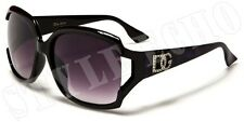 Vintage Style Womens Designer Sunglasses Printed Temple with Vented Lens