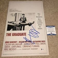 Dustin Hoffman Signed 12X18 Photo Poster The Graduate Rain Man Actor Bas