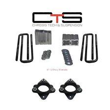 """3"""" Front + 1.5"""" Rear FULL Leveling Lift Kit 07-11 Silverado Sierra 2WD 4WD 6Lug"""