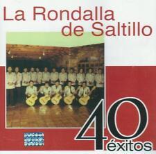 La Rondalla De Saltillo CD NEW 40 Exitos BOX SET Con 2 CD's 40 Canciones !