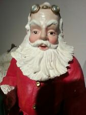 Duncan Royale Santas SODA POP MUSIC BOX Limited Collectible porcelain figurine