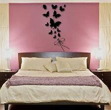 Wall Stickers Vinyl Decal Butterfly Very Romantic Decor For Bedroom (z1759)