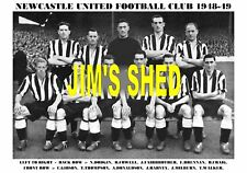 NEWCASTLE UNITED F.C.TEAM PRINT 1948-49 (DODGIN/CRAIG)