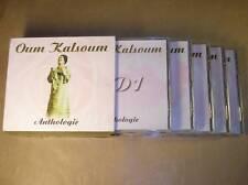 COFFRET 5 CD / OUM KALSOUM / ANTHOLOGIE / RARE / TRES BON ETAT