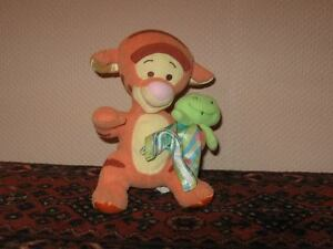 Fisher Price Mattel Winnie the Pooh Baby TIGGER with Rattle 2004