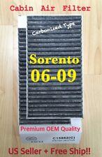 Sorento 06 07 08 09 PREMIUM QUALITY CARBONIZED TYPE CABIN AIR FILTER C15862