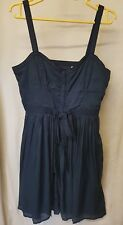 Jack Wills navy blue dress size 10