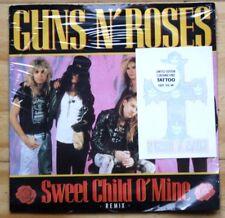"MINT! GUNS N ROSES SWEET CHILD O MINE WITH TATTOO!!! 7"" VINYL 45"