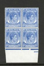 More details for singapore sg 23 15 cent p 17.5 x 18 block of 4 mnh