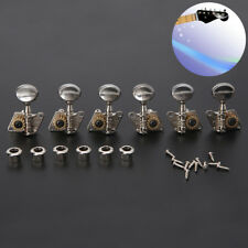 Folk Acoustic Guitar Open Tuning Peg Tuners Machine Heads for Replacement Parts