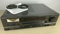 TECHNICS SA-GX350 RECEIVER CLASS A TESTED SOUNDS GREAT W/ PHONO INPUT