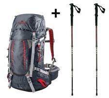 Backpack Trekking Hiking Viaggio FERRINO FINISTERRE 48 + Poles Diorite