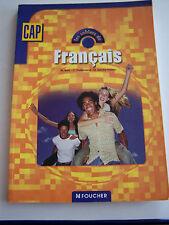 FRANCAIS LES CAHIERS CAP .  TRES BON ETAT .