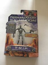Terminator Salvation T-R.I.P. Action Figure & Weapon Playmates 2009 Sealed