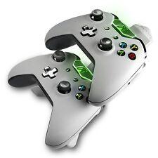 Microsoft Xbox One con licencia Energizer 2X sistema de carga-Blanco (nuevo)