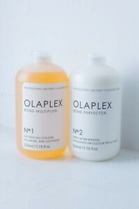 Official OLAPLEX NO1(15ml) and NO2(30ml). Sealed package - Free Fast Delivery