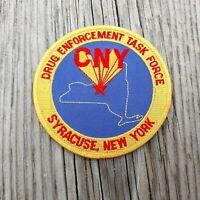 DEA NEW JERSEY STATE NARCOTICS TASK FORCE ERADICATION TEAM SHOULDER PATCH