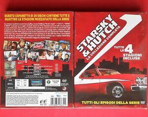 rare box set 20 dvd starsky & hutch serie completa complete series david soul gq