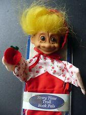 "Russ 8"" Little Red Riding Hood Story Time Troll Book Pals"