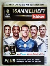 FERRERO DFB TEAM CARDS WM 2018 SAMMELHEFT