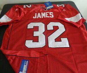 EDGERRIN JAMES Arizona CARDINALS Football REEBOK Sewn Size 56 Jersey NFL Red NEW