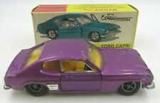 Boxed Vintage Dinky Toys Ford Capri Model Car with Speedwheels (#165)