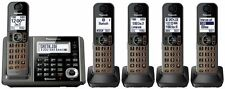 Panasonic KX-TGF375 METALLIC GRAY DECT 6.0 Plus Bluetooth Cordless Phone System