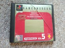 Namco Museum Vol 5 for Sony Playstation 1 - PS1 PS2 PS3 - PAL Complete w Manual