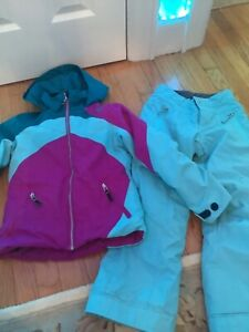 Girls Teen Obermeyer Snow Tabor Ski Jacket/Coat and Brooke Pants size 8
